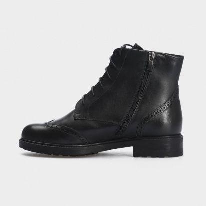 Ботинки женские Ботинки 87900231 черная кожа. Шерсть 87900231 примерка, 2017