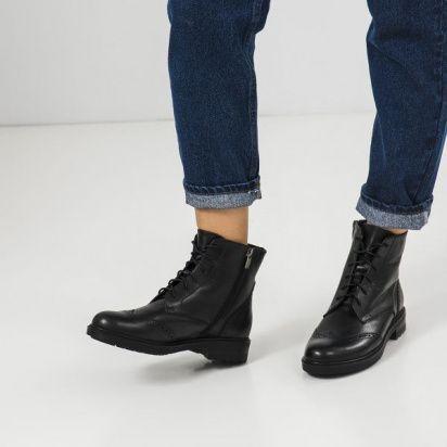 Ботинки женские Ботинки 87900231 черная кожа. Шерсть 87900231 бесплатная доставка, 2017
