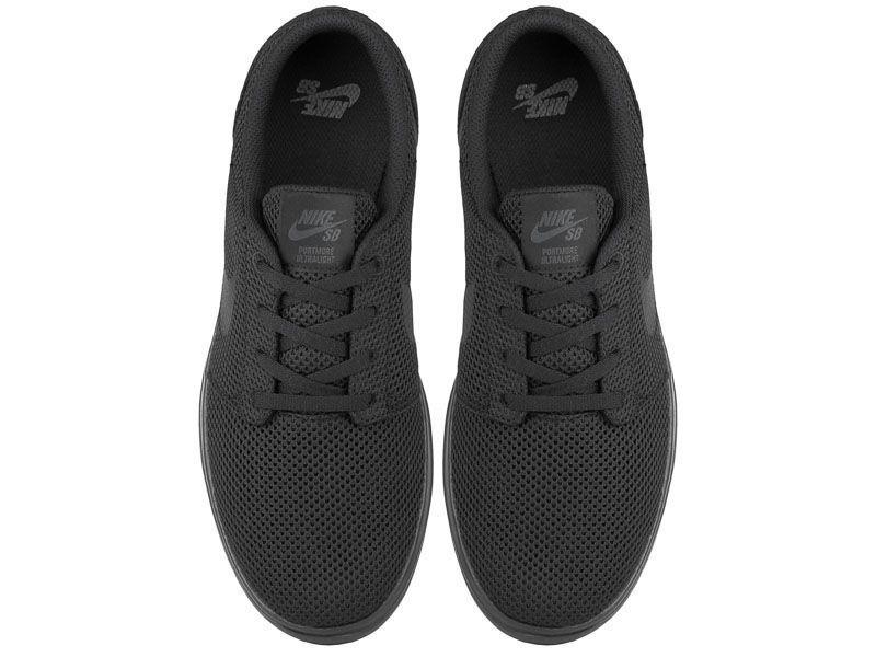 Кеды для мужчин Nike SB Portmore II Ultralight Black 880271-001 обувь бренда, 2017