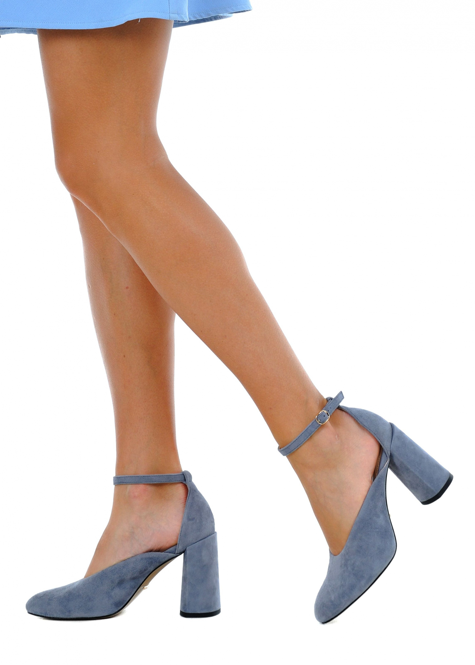 Туфлі  для жінок 894004 Замшевые голубые туфли Modus Vivendi 894004 фото, купити, 2017
