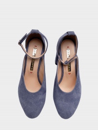 Туфлі  для жінок 894004 Замшевые голубые туфли Modus Vivendi 894004 купити в Україні, 2017