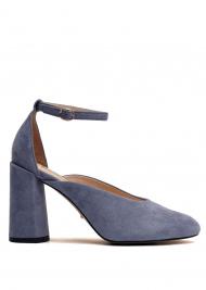 Туфлі  для жінок 894004 Замшевые голубые туфли Modus Vivendi 894004 вибрати, 2017