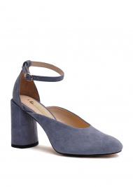 Туфлі  для жінок 894004 Замшевые голубые туфли Modus Vivendi 894004 дивитися, 2017