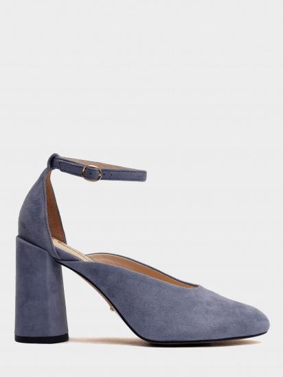 Туфлі  для жінок 894004 Замшевые голубые туфли Modus Vivendi 894004 взуття бренду, 2017