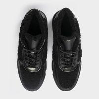 Ботинки женские Ботинки 896827073 черная кожа/текстиль. Шерсть 896827073 продажа, 2017