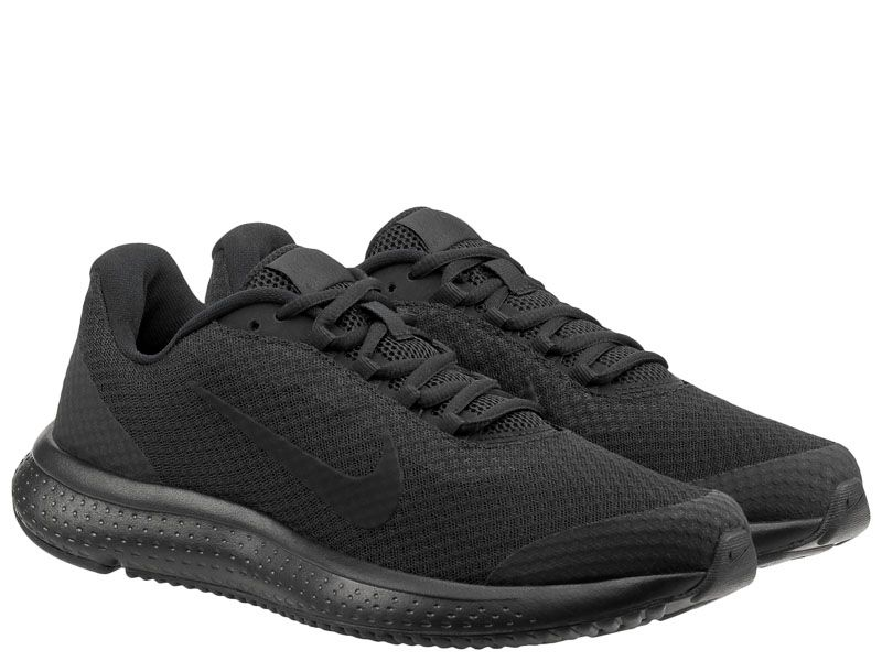 Кроссовки мужские Nike RunAllDay Running Shoe Black/Black 898464-020 , 2017