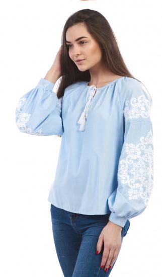 Сорочка з довгим рукавом Едельвіка модель 899-18-00 — фото 2 - INTERTOP