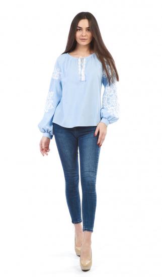 Сорочка з довгим рукавом Едельвіка модель 899-18-00 — фото 4 - INTERTOP