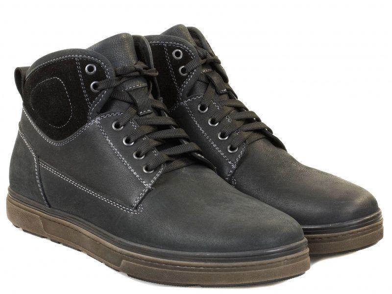 Купить Ботинки мужские Braska 8B16, Черный