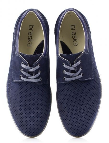 Полуботинки для мужчин Braska 8B4 модная обувь, 2017