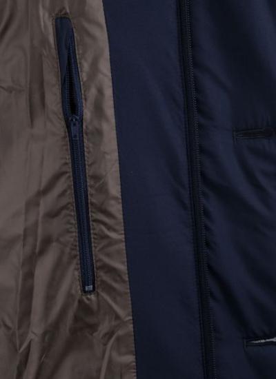 Куртка Madzerini модель SERGIO DARK BLUE — фото 4 - INTERTOP