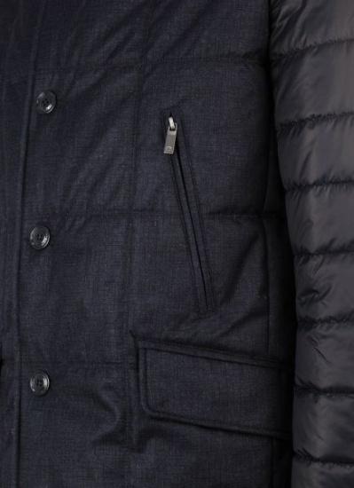 Куртка Madzerini модель CLOD navy — фото 3 - INTERTOP