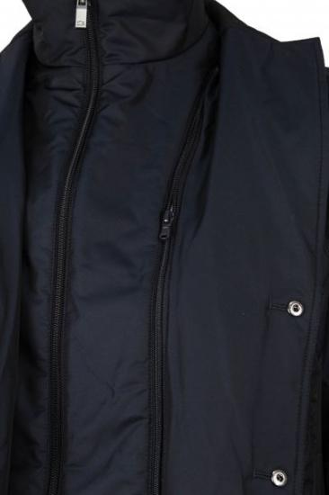 Куртка Madzerini модель FREDO navy — фото 4 - INTERTOP