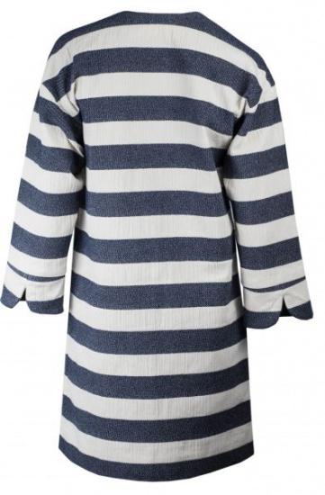 Пальта та плащі Madzerini модель PAOLA white/navy — фото 2 - INTERTOP