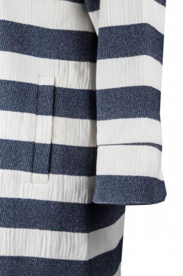 Пальта та плащі Madzerini модель PAOLA white/navy — фото 3 - INTERTOP
