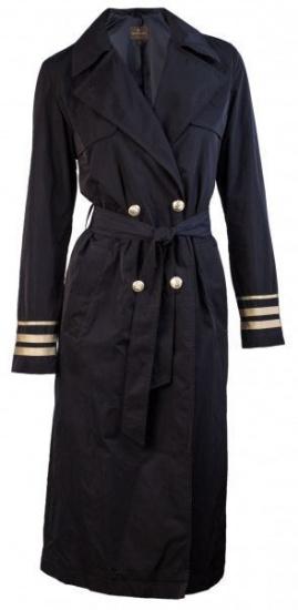 Пальта та плащі Madzerini модель VALESCA navy — фото - INTERTOP