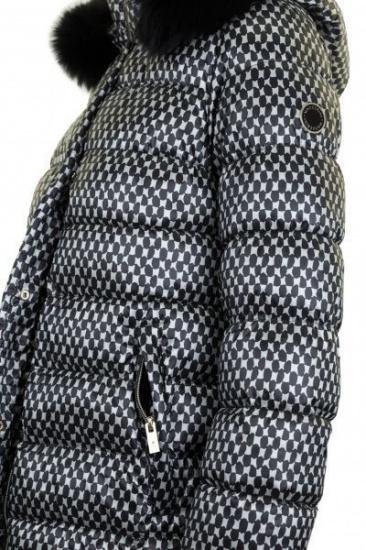 Куртка Madzerini модель DIANA black — фото 3 - INTERTOP