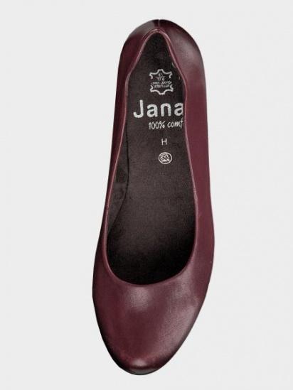 Туфлі Jana модель 22404-23-549 BORDEAUX — фото 3 - INTERTOP