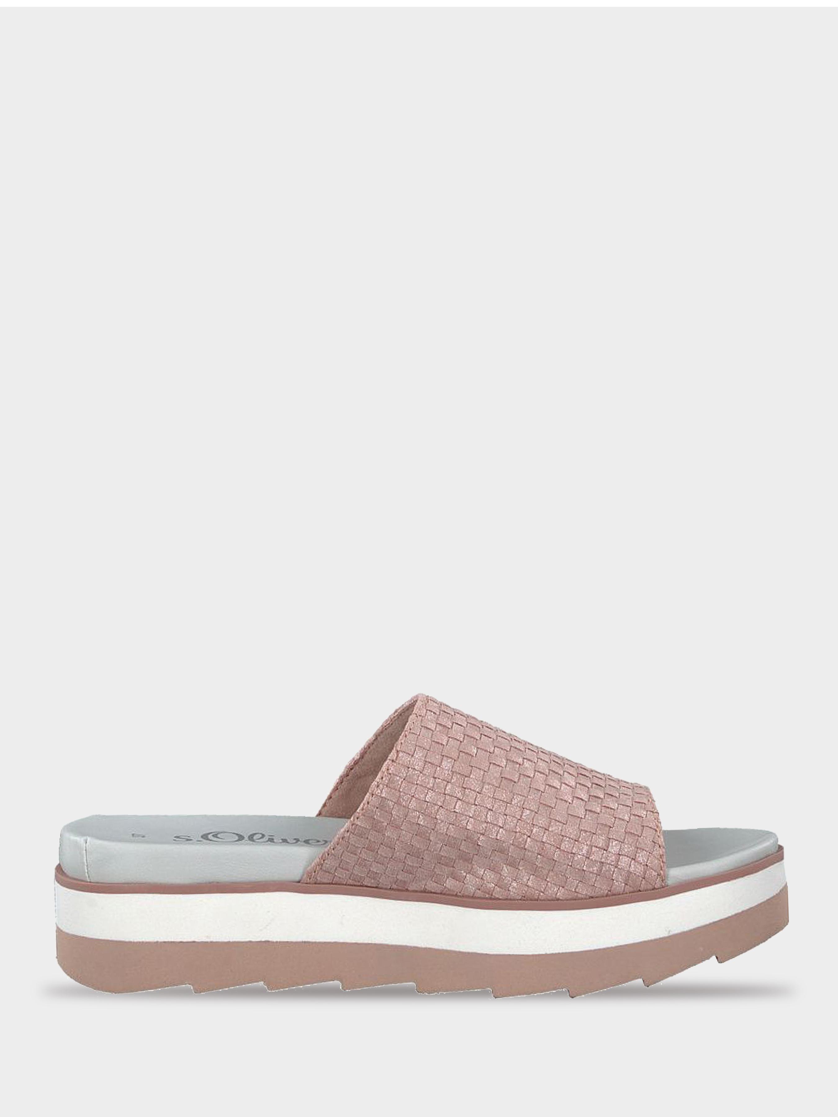 Шлёпанцы для женщин S.Oliver 8W11 размерная сетка обуви, 2017
