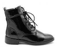Черевики  для жінок S.Oliver 25102-21-018 BLACK PATENT брендове взуття, 2017
