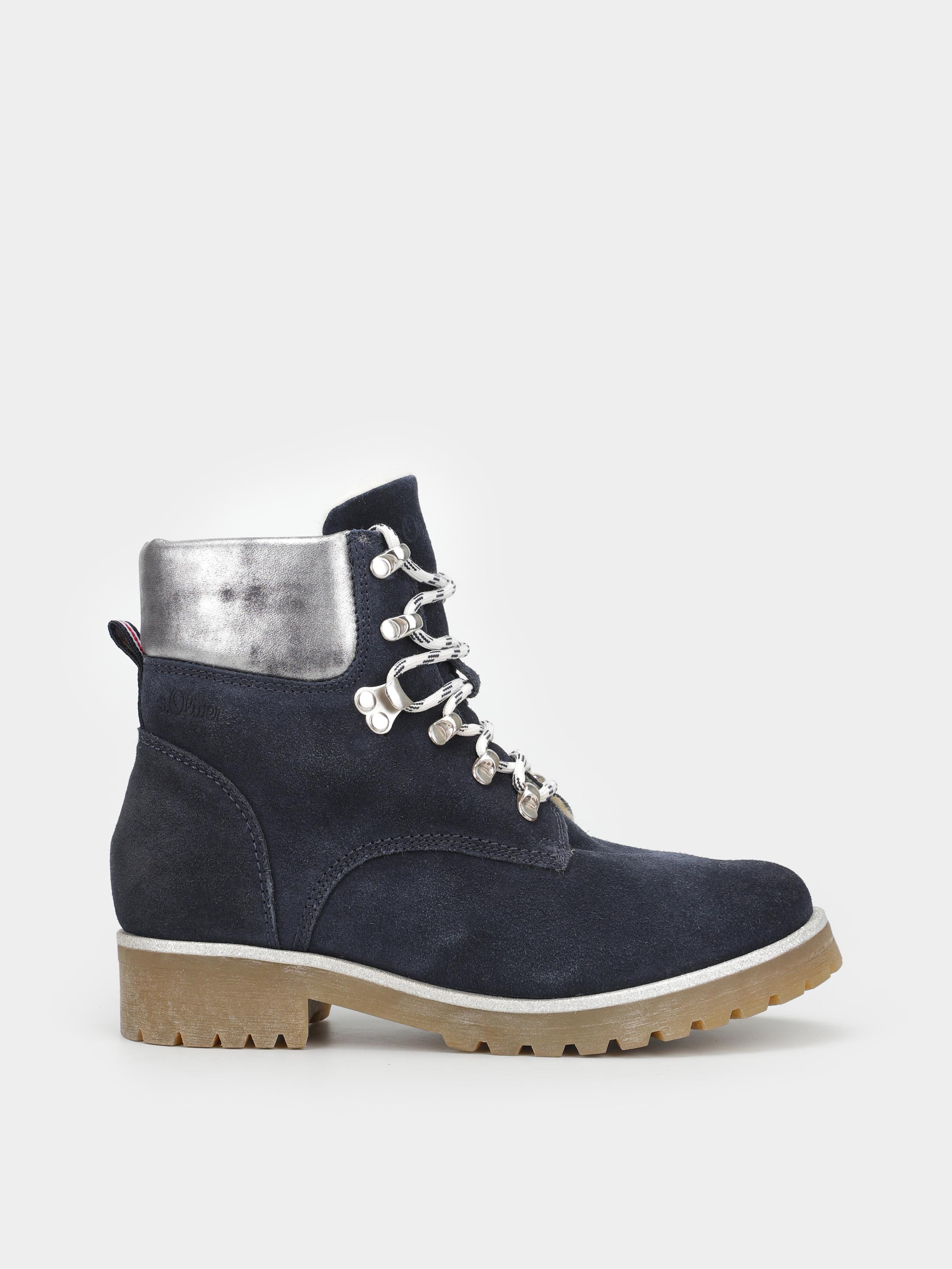Ботинки для женщин S.Oliver 8W74 брендовые, 2017