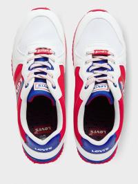 Кросівки  для дітей Levi's VSPR0021T WHITERED0079 брендове взуття, 2017