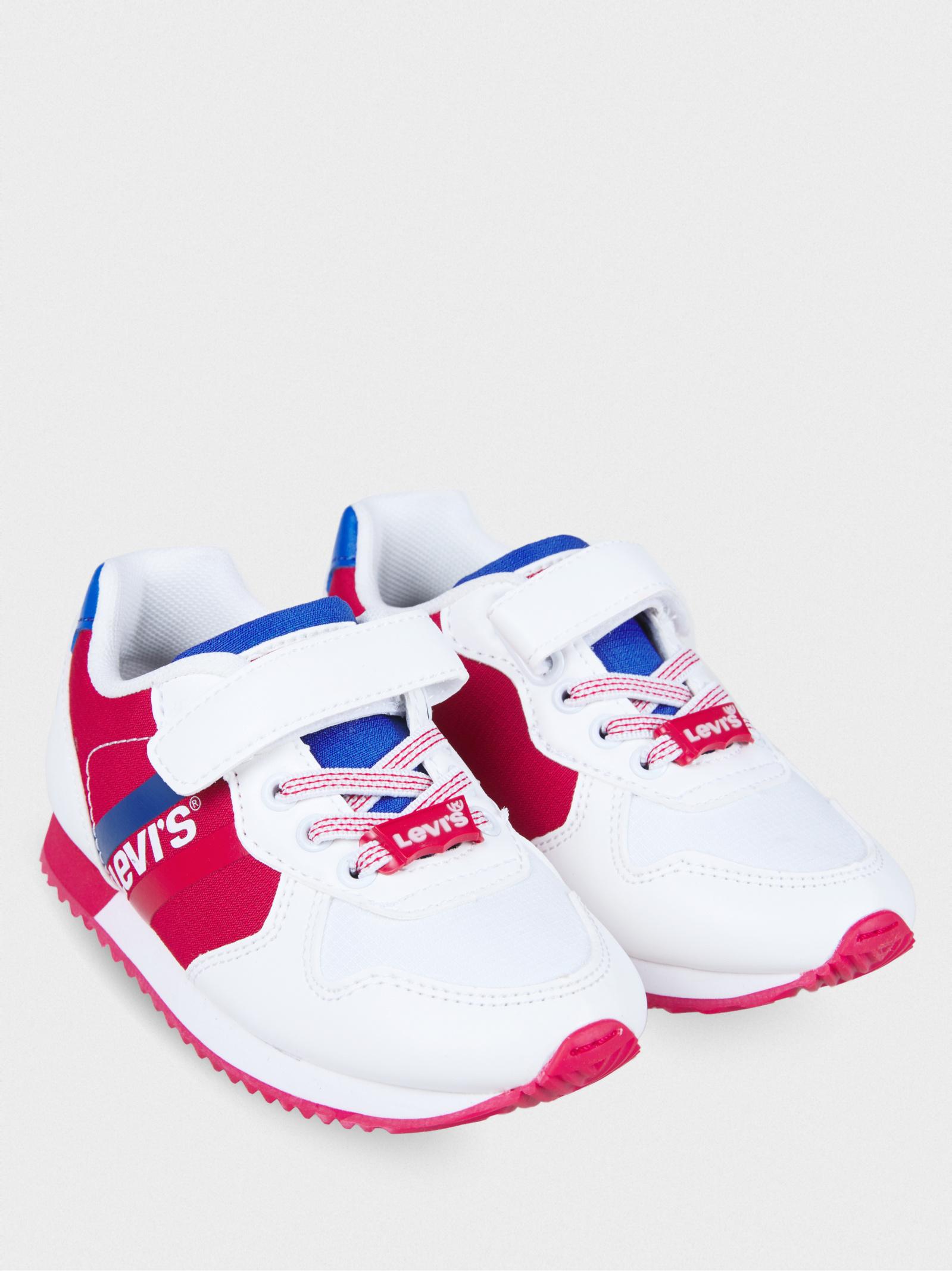 Кросівки  для дітей Levi's VSPR0022T WHITERED0079 VSPR0022T WHITERED0079 ціна взуття, 2017