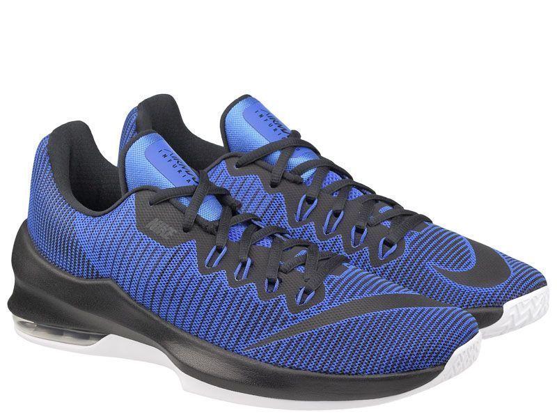 Кросівки для чоловіків NIKE AIR MAX INFURIATE 2 LOW Blue 908975-400  розмірна сітка взуття e3efc5fb58dde