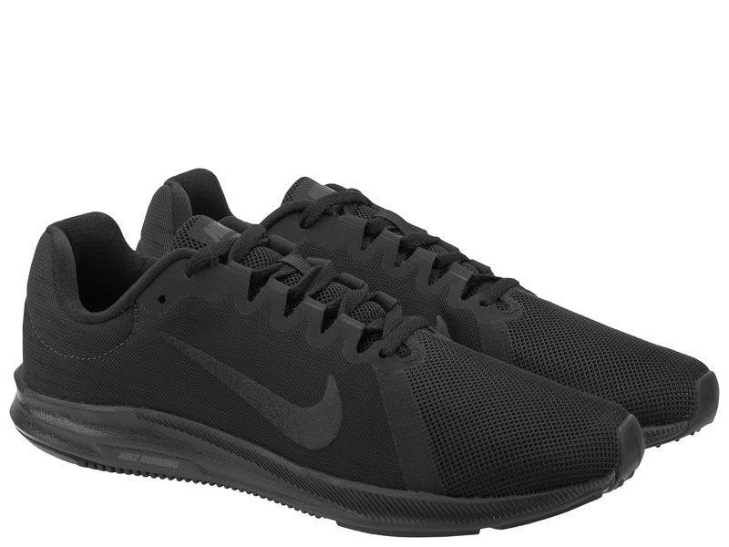 Кроссовки для мужчин Nike Downshifter 8 Black/Black 908984-002 примерка, 2017
