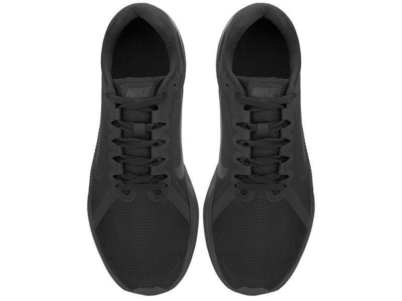 Кроссовки для мужчин Nike Downshifter 8 Black/Black 908984-002 бесплатная доставка, 2017