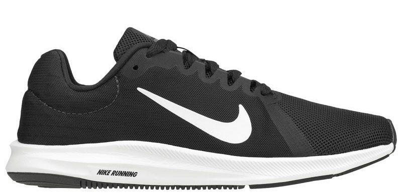 Кроссовки для женщин WMNS NIKE DOWNSHIFTER 8 Black/white 908994-001 обувь бренда, 2017