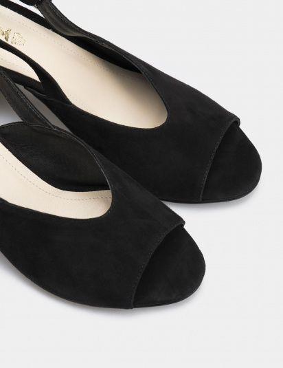 Босоножки женские Босоножки 93190141 черная замша 93190141 купить в Интертоп, 2017