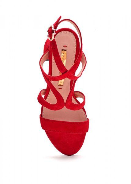 Босоножки женские 934513 Красные замшевые босоножки Modus Vivendi 934513 Заказать, 2017
