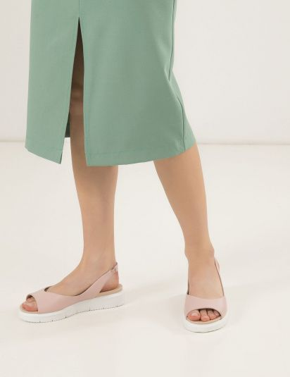 Сандалии женские Сандали 93783716-1 розовая кожа 93783716-1 брендовая обувь, 2017