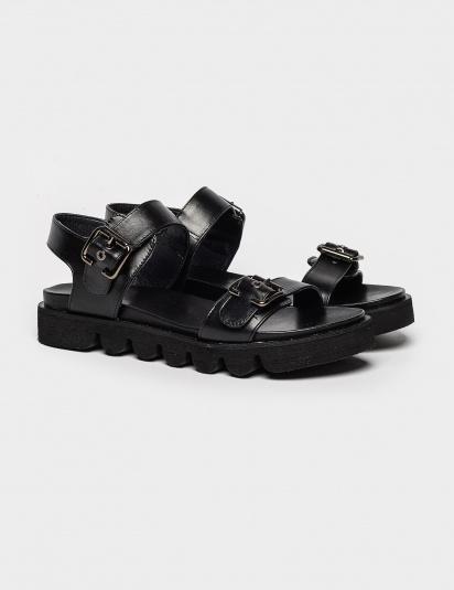 Сандалі  жіночі Сандали 93900284 черная кожа 93900284 брендове взуття, 2017