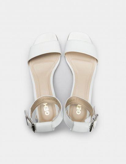 Босоножки женские Босоножки 94080148 белая кожа 94080148 размерная сетка обуви, 2017