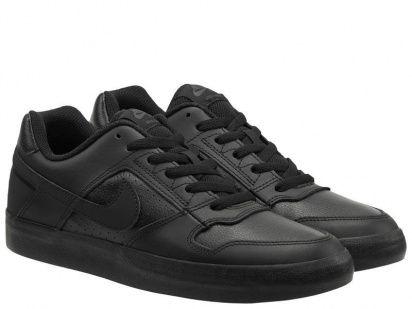 Кеды для мужчин NIKE SB DELTA FORCE VULC Black/Black 942237-002 обувь бренда, 2017