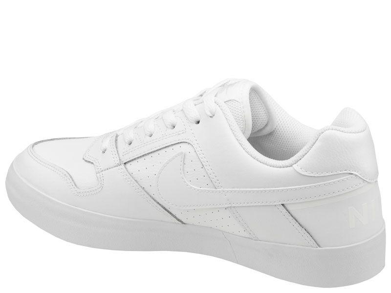 Кеды для мужчин NIKE SB DELTA FORCE VULC White 942237-112 размерная сетка обуви, 2017