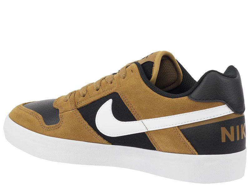 Кеды для мужчин NIKE SB DELTA FORCE VULC Brown AS 942237-201 брендовая обувь, 2017
