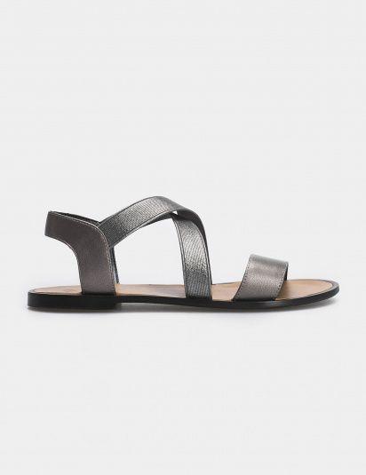 Сандалии женские Сандали 94370784 никель кожа 94370784 брендовая обувь, 2017