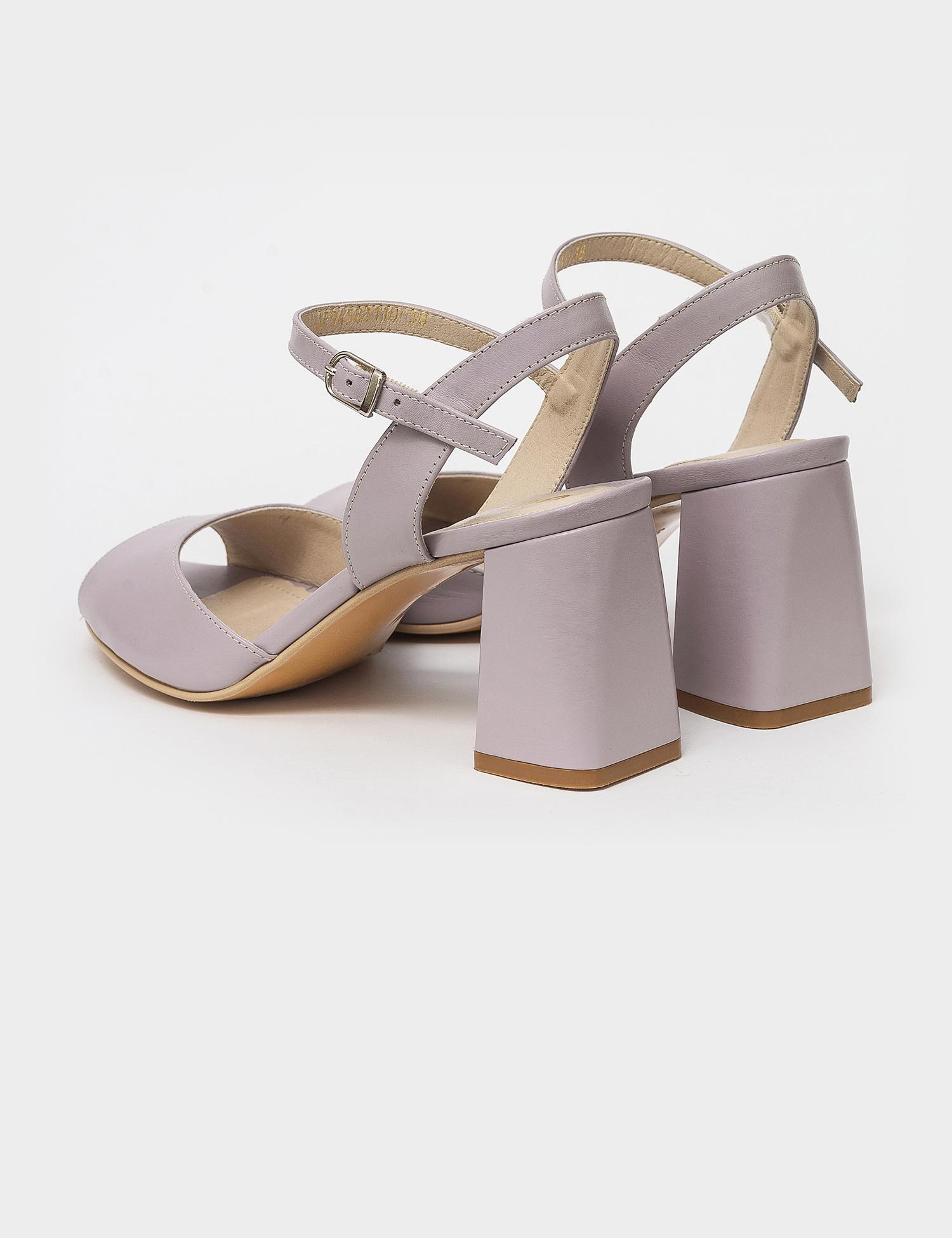 Босоніжки  жіночі Босоножки 94583110 серо-сиреневая кожа 94583110 взуття бренду, 2017