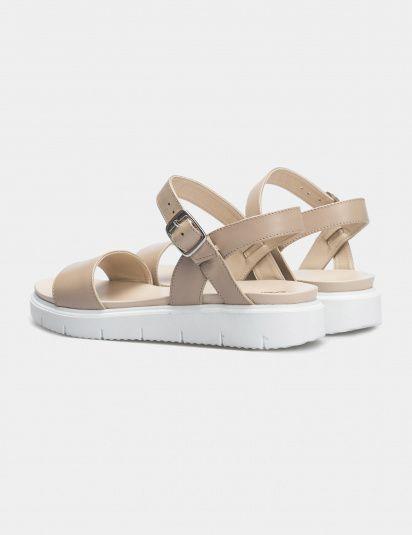 Сандалии женские Сандали 94987416-1 бежевая кожа 94987416-1 брендовая обувь, 2017