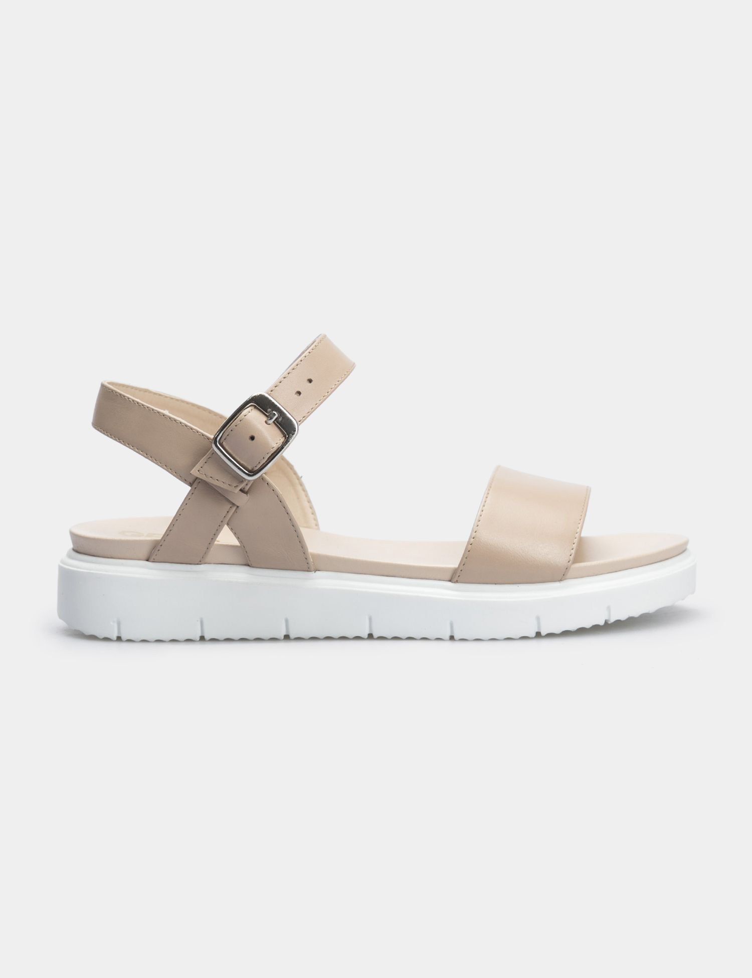 Сандалии женские Сандали 94987416-1 бежевая кожа 94987416-1 размерная сетка обуви, 2017