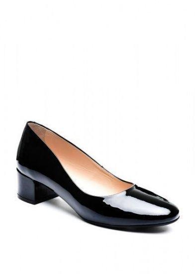 для женщин 960381 Черные лаковые туфли Modus Vivendi 960381 брендовая обувь, 2017