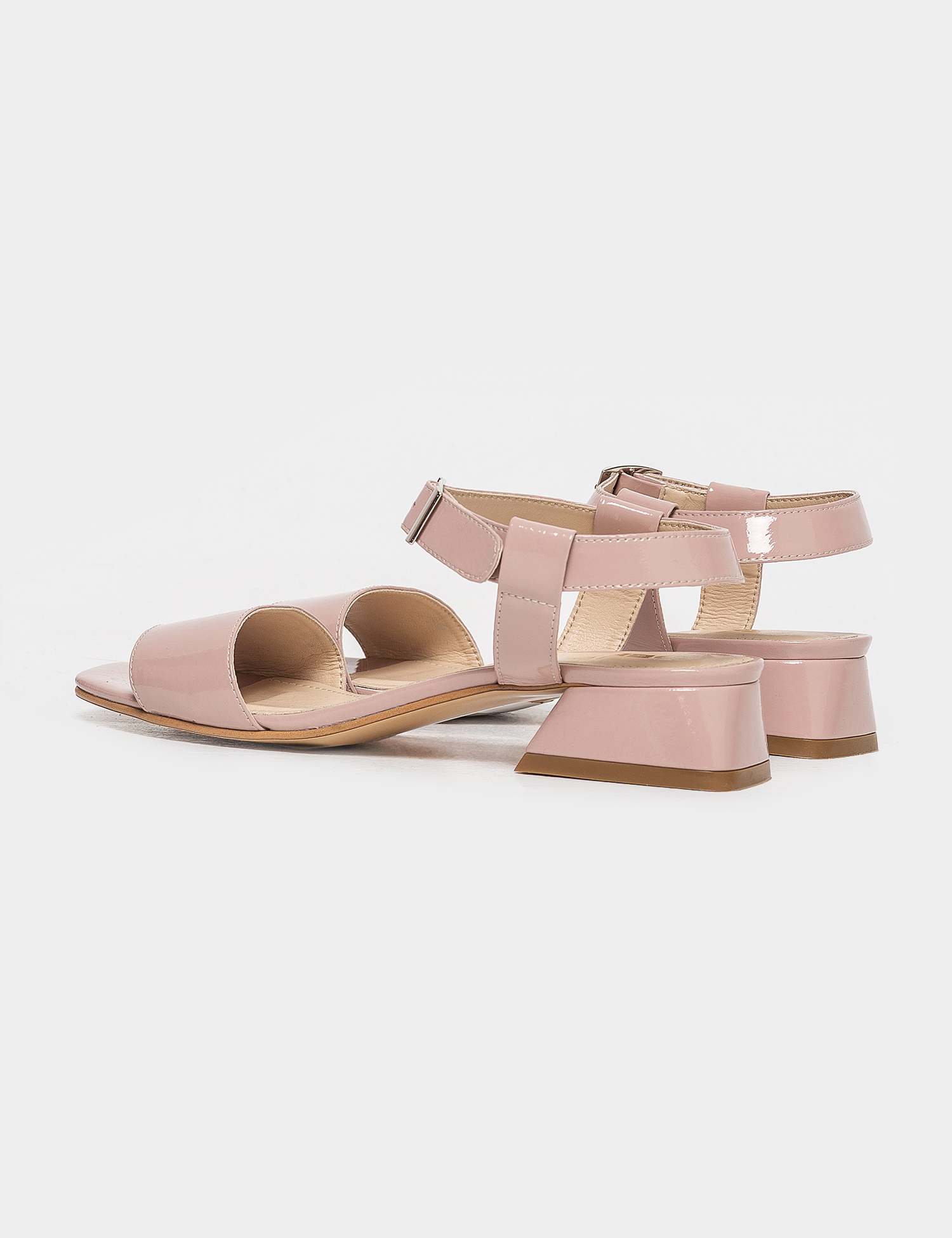 Босоніжки  для жінок Босоножек 96832010 розовая кожа лакированая 96832010 продаж, 2017