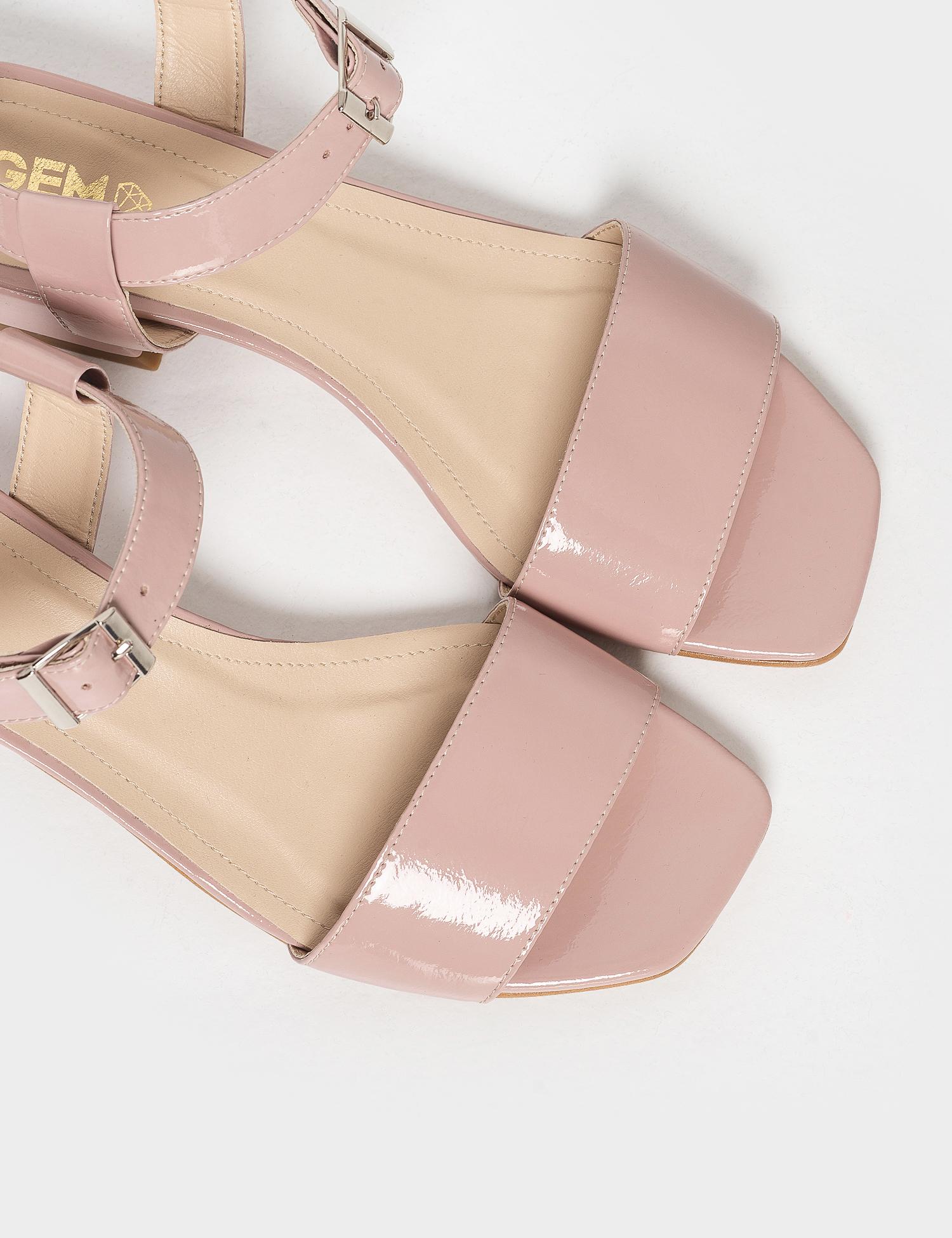 Босоніжки  для жінок Босоножек 96832010 розовая кожа лакированая 96832010 модні, 2017