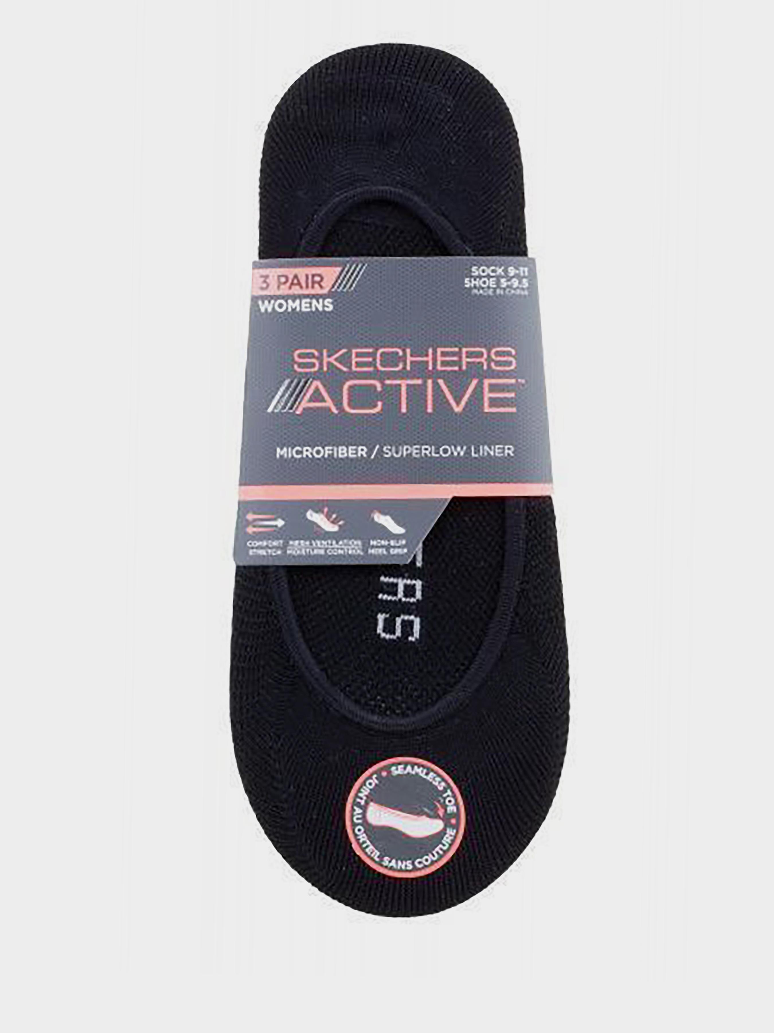 Купить Носки женские модель 9C12, Skechers, Черный