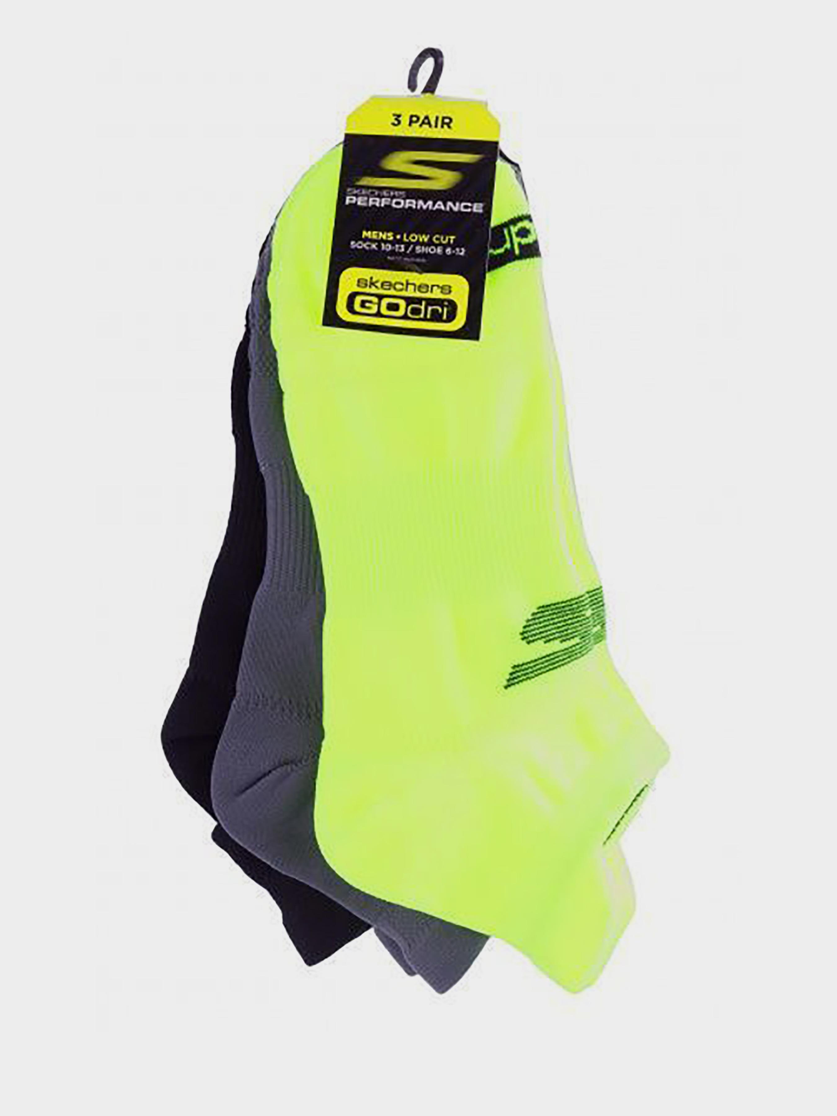 Купить Носки мужские модель 9C126, Skechers, Желтый