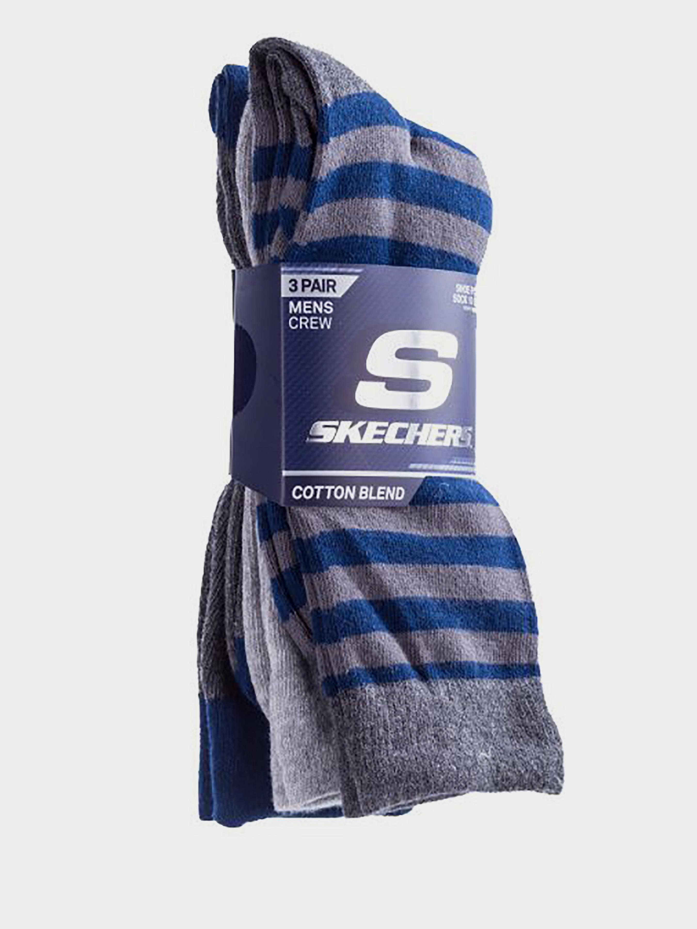 Купить Носки мужские модель 9C127, Skechers, Серый