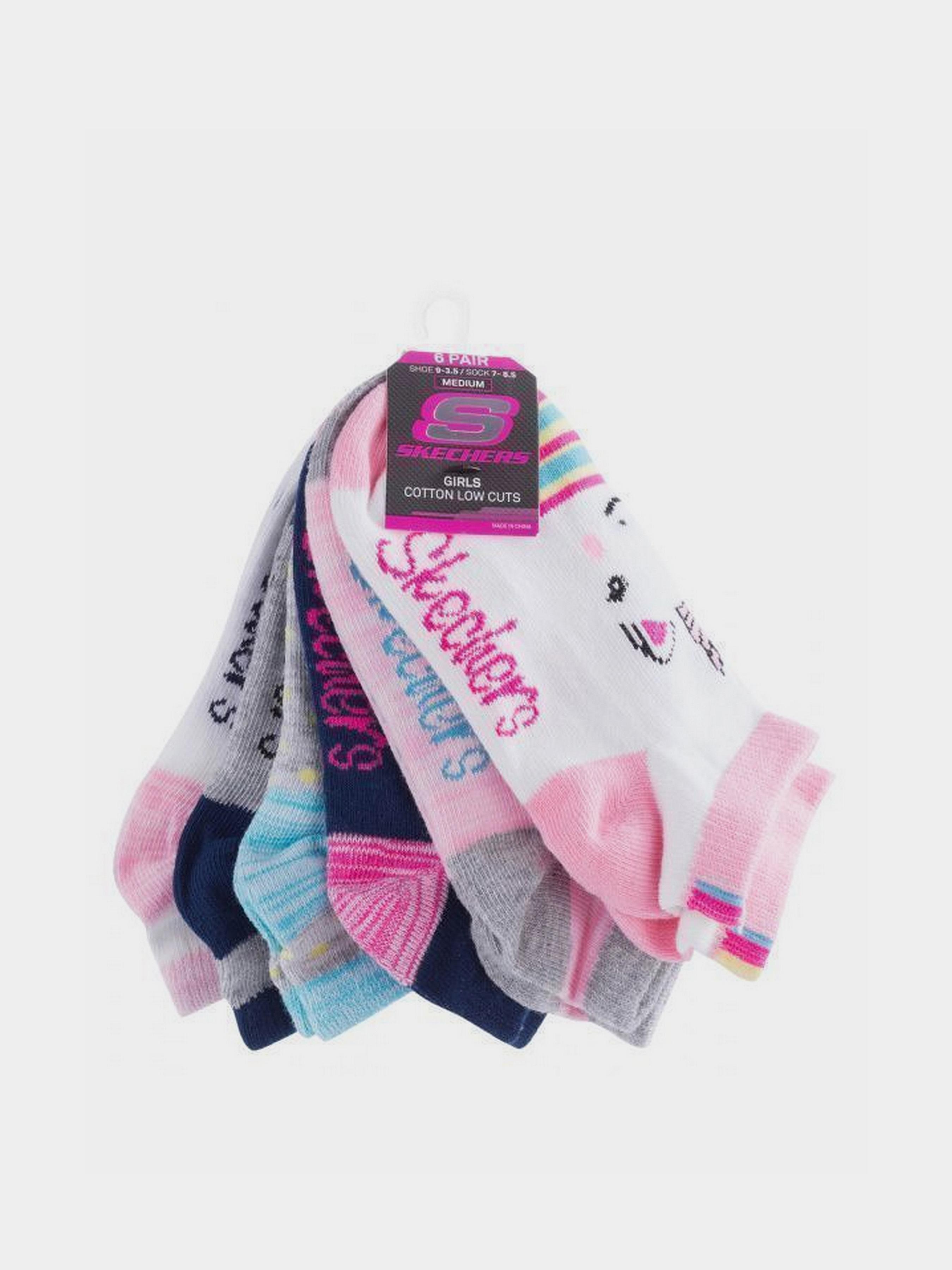 Купить Носки детские модель 9C129, Skechers, Многоцветный